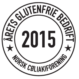 DGV er årets glutenfrie bedrift for 2015